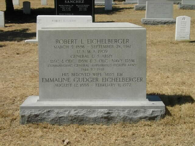 RL Eichelberger Gravesite PHOTO