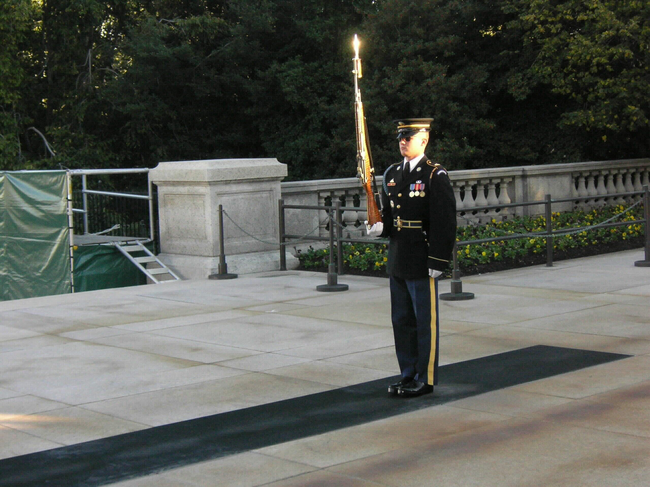 Tomb Sentry In The Sunshine, By Captain Henry Kass, USAF, November 2005